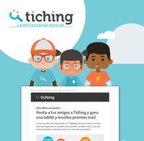 Tiching - MGM Campaign. Un proyecto de Diseño Web, Ilustración y UI / UX de le  dezign - Viernes, 29 de julio de 2016 00:00:00 +0200
