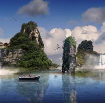 El paraíso terrenal. Un proyecto de Diseño de Francis Blanco         - 03.08.2016