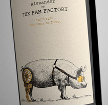 Alexander vs The Ham Factory. Un proyecto de Diseño gráfico y Packaging de Estudio Maba  - 10-08-2016
