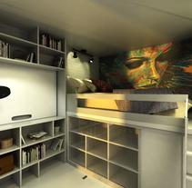 Habitaculo. Um projeto de 3D, Design de interiores e Infografia de Patricia Alvarez Garcia - 11-08-2016
