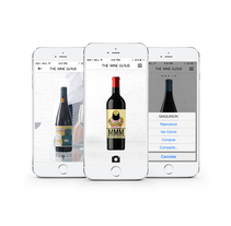 App The Wine Gurus. Un proyecto de Diseño interactivo y Diseño Web de Estudio Maba         - 15.08.2016