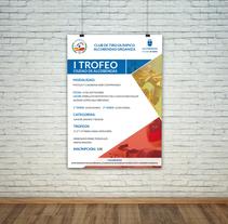 Poster para el Club de Tiro Olímpico Alcobendas (I Trofeo Ciudad de Alcobendas). Un proyecto de Diseño y Diseño gráfico de Alfredo Moya         - 17.08.2016