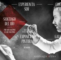Santiagodelrío - Diseño y desarrollo web. A Motion Graphics, Art Direction, Creative Consulting, Design Management, Web Design, and Web Development project by Juan  Megías Alonso - 22-08-2016