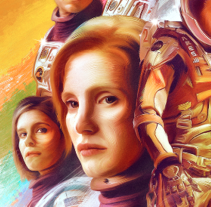 The Martian Vk16. Um projeto de Design, Ilustração e Direção de arte de Vikö Sviäs         - 19.05.2015