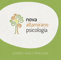 Nova Psicología - Diseño web y papelería. A Graphic Design, Web Design, and Web Development project by Antonio Ufarte         - 05.08.2016