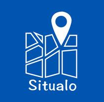 """Diseño interfaz de aplicación móvil """"Situalo"""". A Web Development, Art Direction, Web Design, and UI / UX project by Esther Martínez Recuero - Aug 26 2012 12:00 AM"""