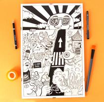 Dibujos Originales. A Illustration, Crafts, and Fine Art project by Ceskus Ilustrador         - 30.08.2016