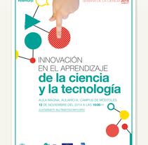 Carteles para la Semana de la Ciencia. A Design project by Gemma de Castro - 31-08-2015