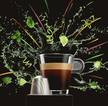 Nespresso Middle East - Product Page E-shop. A Art Direction&Interactive Design project by Narciso Arellano - 05-09-2016