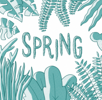 Spring. A Comic project by Juan Luis Castro - 05-09-2016