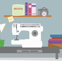 Motion Graphics realizado para la Marca de Accesorios Independiente FRENESSI. . Un proyecto de Diseño, Motion Graphics, Animación, Moda y Vídeo de S. Gabriela Pereyra - 06-09-2016