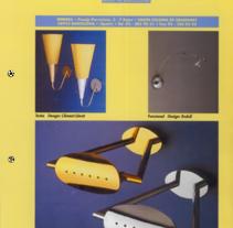 Línea de publicaciones publicidad para firma de iluminación. Un proyecto de Diseño gráfico de Alberto Figueroa Notó         - 07.09.2016
