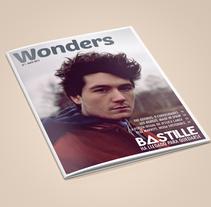 Revista Wonders - Proyecto final (CFGS Diseño y Producción Editorial). Um projeto de Design, Design editorial e Design gráfico de Noe Harrison         - 09.09.2015