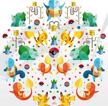 Pokémon GO!. Un proyecto de Ilustración, Dirección de arte, Diseño de personajes, Diseño gráfico y Televisión de Erik Gonzalez - 11-09-2016
