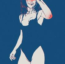 Girls 02. A Illustration project by Óscar Lloréns         - 12.09.2016