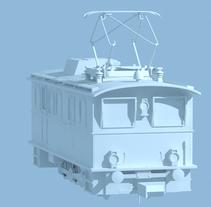 Tren Cremallera Edelweiss. A 3D project by Jesús Pantaleón         - 06.08.2016