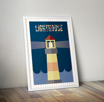 Ilustración Lighthouse. A Graphic Design project by VerraKo         - 16.09.2016