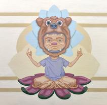 El rey oso. Un proyecto de Ilustración, Artesanía, Bellas Artes y Pintura de Antonio Guzmán Iñigo         - 19.09.2016