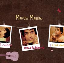 Mario Maeso. Un proyecto de UI / UX y Diseño Web de David Berrueco Navarro         - 22.09.2016