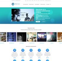 Diseño página web - Videocontent . Un proyecto de Diseño Web de Néstor Tejero Bermejo - 26-09-2016