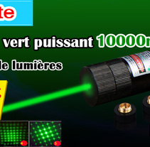Pointeur Laser Vert 10000mW . A Music, and Audio project by pointeur laser  - 27-09-2016
