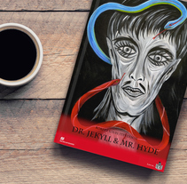 Portada para el libro Doctor Jekyll y Mister Hyde de MacMillan Readers. A Illustration, Editorial Design, and Graphic Design project by Sergio Castañeda         - 27.09.2016