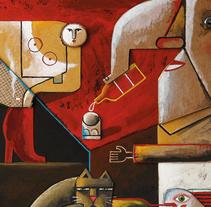 The Resourceful Artist_Promopress. Un proyecto de Ilustración, Fotografía, Diseño editorial, Educación, Bellas Artes, Pintura, Escultura, Escenografía, Collage y Paper craft de Víctor Escandell         - 04.10.2016
