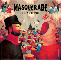 The Masquerade mixed by Claptone. A Illustration project by Jesús Sotés Vicente - Oct 09 2016 12:00 AM