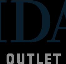 Vidal Outlet. Um projeto de Br, ing e Identidade e Design gráfico de Bibiana Casassas Fontdevila         - 17.10.2016