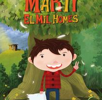 Martí. A Fine Art, Comic, Graphic Design&Illustration project by Rafa Garcia  - Oct 19 2016 12:00 AM