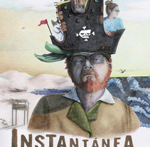 Instantanea¨ movie poster. A Illustration project by Margarita Rojas Lopez-Abadia - 23-10-2016