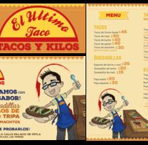 El último Taco. Un proyecto de Diseño editorial de Mayte Molina         - 22.08.2015