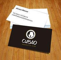 IDENTIDAD PUBLICITARIA. Cubao Habanos de Cuba. Um projeto de Design e Design gráfico de Maria Eugenia Leiva         - 17.08.2012