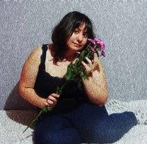 Retratos florales a mi amiga Sara. Un proyecto de Fotografía de Andie Villar         - 08.11.2016