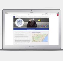 Web Design: La Grua. Un proyecto de Diseño Web de Bonaria Staffetta         - 02.01.2016
