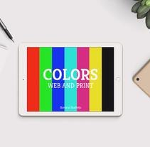 E-book interactivo: Colors, web and print. Un proyecto de Ilustración, Animación y Diseño interactivo de Bonaria Staffetta         - 03.09.2016