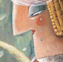 El Principe Sapo_Versos y Trazos. Un proyecto de Ilustración, Diseño editorial, Educación y Pintura de Víctor Escandell - 11-11-2016