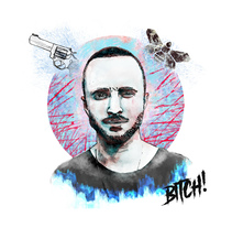 Jesse Pinkman, Breaking Bad. A Illustration, and Graphic Design project by Jorge Soriano         - 13.11.2016