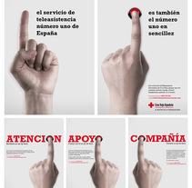 Teleasistencia Cruz Roja Española. Un proyecto de Publicidad, Gestión del diseño, Cop y writing de Fran  Añón - 13-11-2016