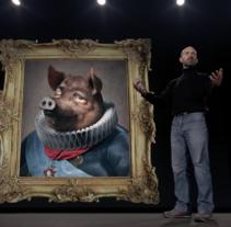 El cerdo a cuerpo de rey.. Un proyecto de Publicidad, Cine, vídeo, televisión, Cop y writing de Fran  Añón         - 14.11.2016