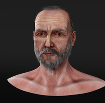 Middle-aged Man. A 3D, Animation, and Character Design project by Hector Lucas         - 24.08.2016