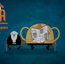 Cosas de Cosa: 1x09 'Alfred Hitchcock: El pasado es ahora'. Um projeto de Animação de J.FRAMES BOND          - 03.11.2013