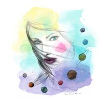 Ilustración para Amapola Biocosmetics. Um projeto de Ilustração, Artes plásticas e Design gráfico de Aniuskä Pérez         - 15.11.2016