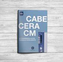 Revista cabecera CM. A Editorial Design, and Graphic Design project by Claudia Domingo Mallol - 14-05-2016