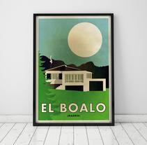 Póster El Boalo. Un proyecto de Diseño gráfico de Mónica Grützmann         - 23.11.2013