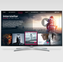 Smart TV UI/UX. A UI / UX project by Olmo Rodríguez - 28-11-2016