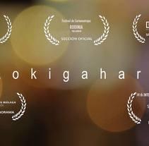 Aokigahara - Cortometraje. Un proyecto de Cine, vídeo, televisión, Cine y Vídeo de Ángel Nájera - 04-03-2015