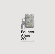 Felices Años 20. A Design, Illustration, Editorial Design, and Graphic Design project by Elrayo rodríguez         - 05.12.2016