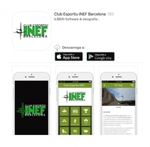 Club Esportiu INEF Barcelona App - 2016. Un proyecto de Marketing de Alejandro Santamaria Parrilla         - 03.10.2016