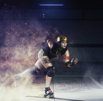 Roller Derby Madrid. A Photograph project by Benedicto Moya - 12-11-2015